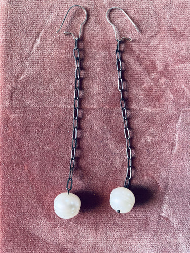 Camille Hempel Pearl Drop Earrings