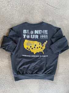 Prince Peter Blondie Tour 1982 Pullover in Off-Black