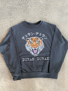 Prince Peter Duran Duran Tiger Pullover in Off-Black