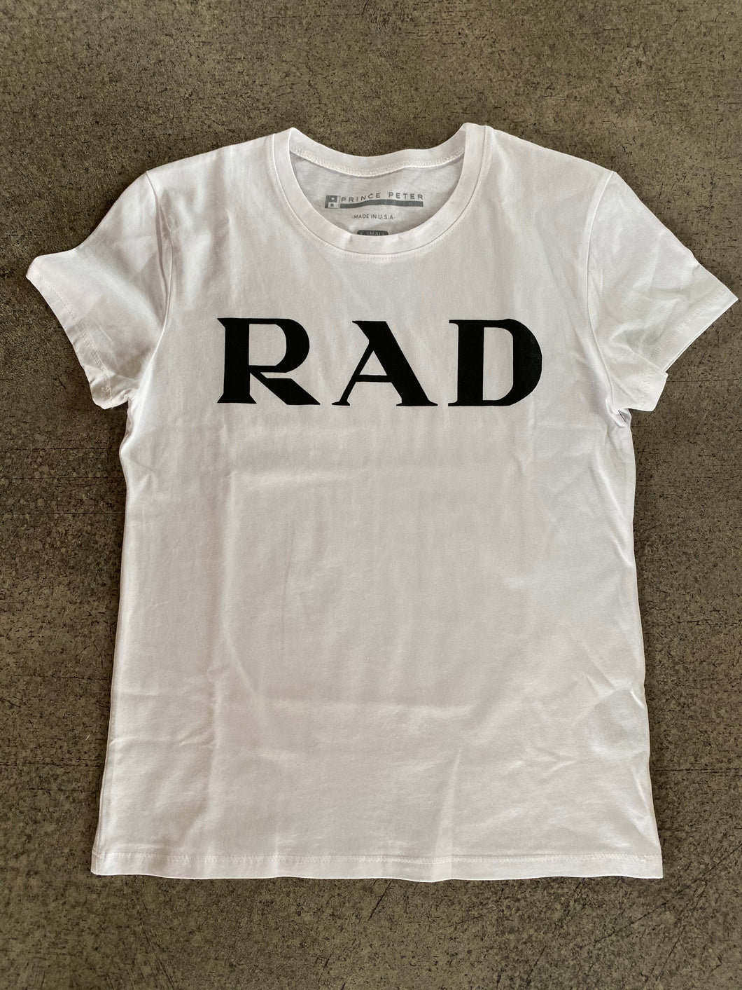 Prince Peter Rad Tee in White