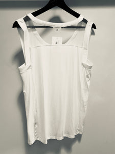 POL Knit Top in Off White