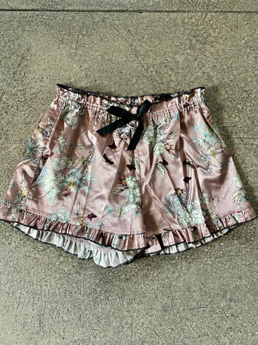 POL Multi-Color Floral Silky Shorts