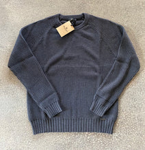 Load image into Gallery viewer, Belstaff Marine Crew Neck in Anthracite