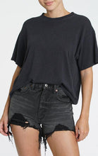Load image into Gallery viewer, Pistola Palmer Hemp Boxy Tee in Black Stone