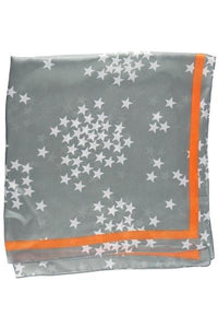 Olive & Pique So Silky Scarf in Stars and Lined Pattern