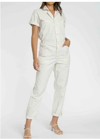 Pistola Grover Field Suit in Antique White
