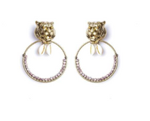 Load image into Gallery viewer, Lisa C Bijoux Dita Earring