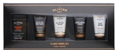 Olivina Men Deluxe Travel Kit