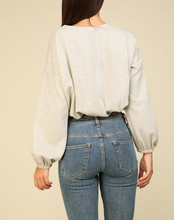 Load image into Gallery viewer, Rib Knit Top in Grey