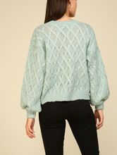 Load image into Gallery viewer, Open Knit Sweater