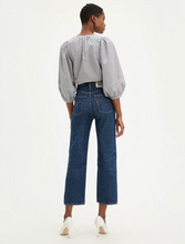 Load image into Gallery viewer, Levi's WellThread Ribcage Straight in Ground Swell Indigo Hemp