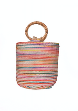 Load image into Gallery viewer, America & Beyond Sea Shell Mini Bucket Bag