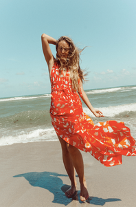 Summer Floral Fiesta Maxi Dress