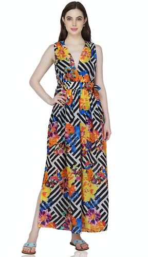 America & Beyond Buttercup Beach Maxi Dress