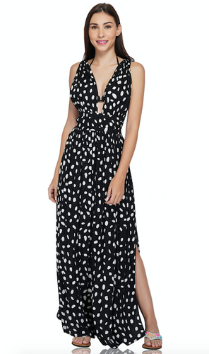 America & Beyond Gladiator Maxi Dress