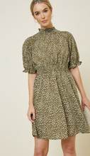 Load image into Gallery viewer, Hayden Smocking Dress in Olive