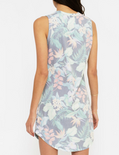 Load image into Gallery viewer, Sol Angeles Tank Dress in Tropical Noir