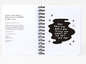 Adam J. Kurtz - Unsolicited Advice 2021 Planner