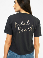 Load image into Gallery viewer, Sol Angeles Rebel Heart Crew in Vintage Black