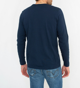 Sol Angeles Sierra L/S Crew in Indigo