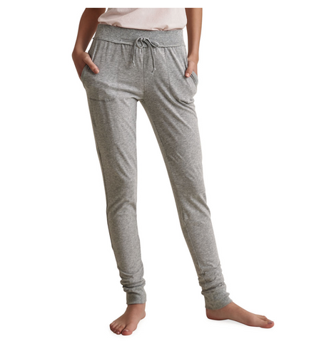 Skin Skinny Lounge Pant in Heather Grey