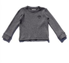 Load image into Gallery viewer, Sol Angeles Kids Twilight Thermal L/S Crew in Black