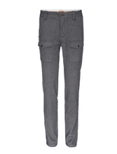 Load image into Gallery viewer, Nifty Genius J.P. Stretch Military Pant in Gray