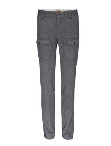 Nifty Genius J.P. Stretch Military Pant in Gray