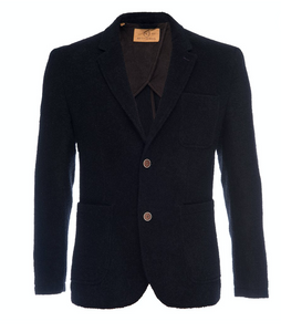 Nifty Genius Notched Lapel Blazer in Chenille