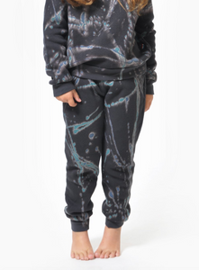 Sol Angeles Kids Cosmic Sol Jogger in Vintage Black