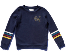 Load image into Gallery viewer, Sol Angeles Kids Varsity Sol Pullover ini Indigo
