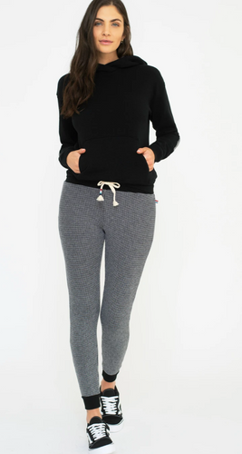 Sol Angeles Twilight Thermal Jogger in Black