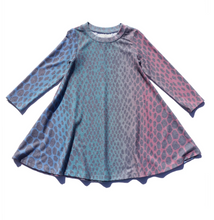 Load image into Gallery viewer, Sol Angeles Kids Rainbow Python Hacci Dress