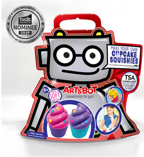 Artsbot Make Your Own Cupcake Squishy