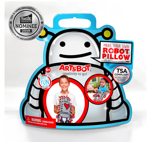 Artsbot Make Your Robot Pillow