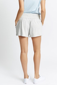 Sol Angeles Speckled Shorts In Natural