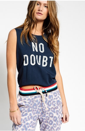 Sol Angeles No Doubt Tank In Indigo