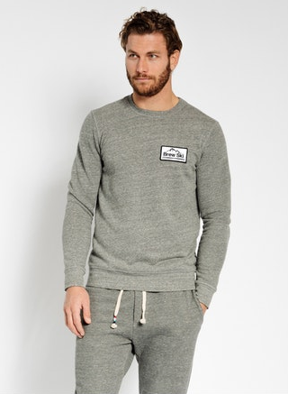 Sol Angeles Brew Ski Pullover In Heather