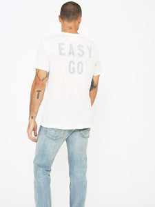 Sol Angeles Easy Come Crew in Dirty White