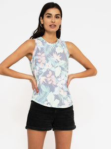 Sol Angeles Tropical Noir Tank in Tropical Noir