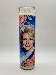 BK Betty White Candle