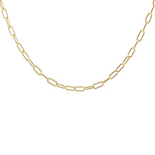 Load image into Gallery viewer, Kris Nations Thick Drawn Cable Chain Choker in Gold