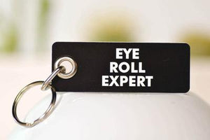 Meriwether Eye Roll Expert Keychain