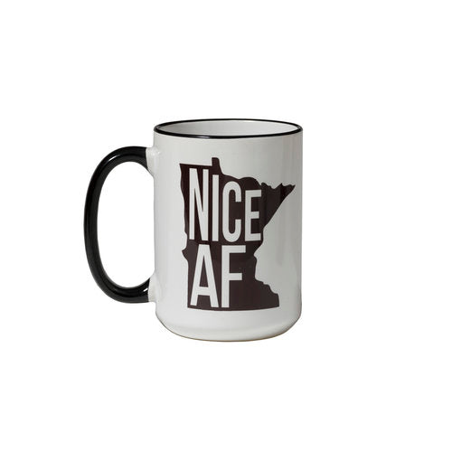 North Coast Soul Nice AF Coffee Mug