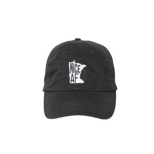 North Coast Soul Nice AF Black Baseball Hat