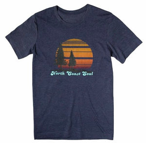 North Coast Soul Women's T-shirt in Navy