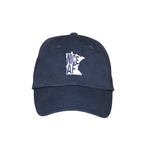 North Coast Soul Nice AF Navy Baseball Hat
