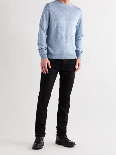 Belstaff Amory Crew Neck in Airforce Blue
