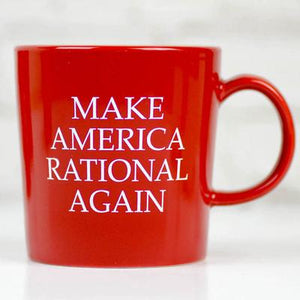 "Meriwether Coffee Mug ""Make America Rational Again"""