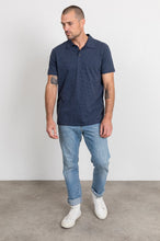 Load image into Gallery viewer, Rails Sebastian in Navy/Blue Stripe